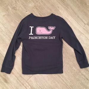 Vineyard Vines Princeton Day Kids Shirt Sz 6